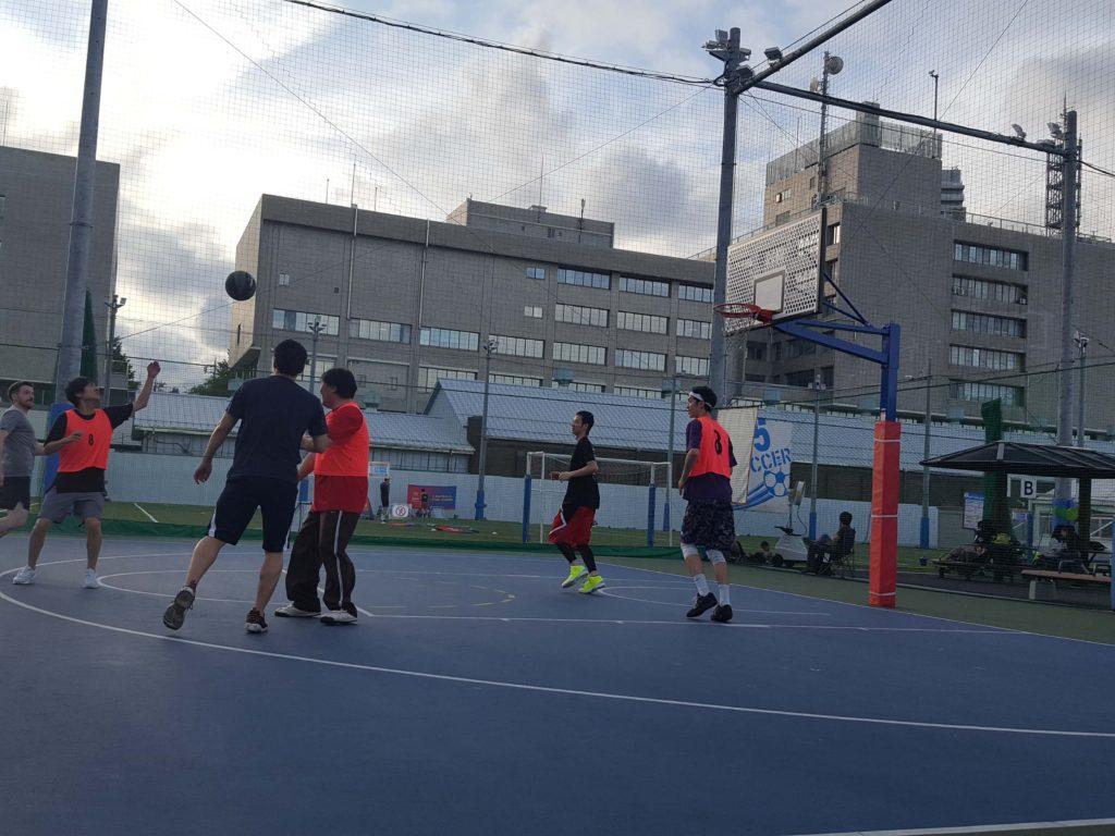 バスケ 交流会